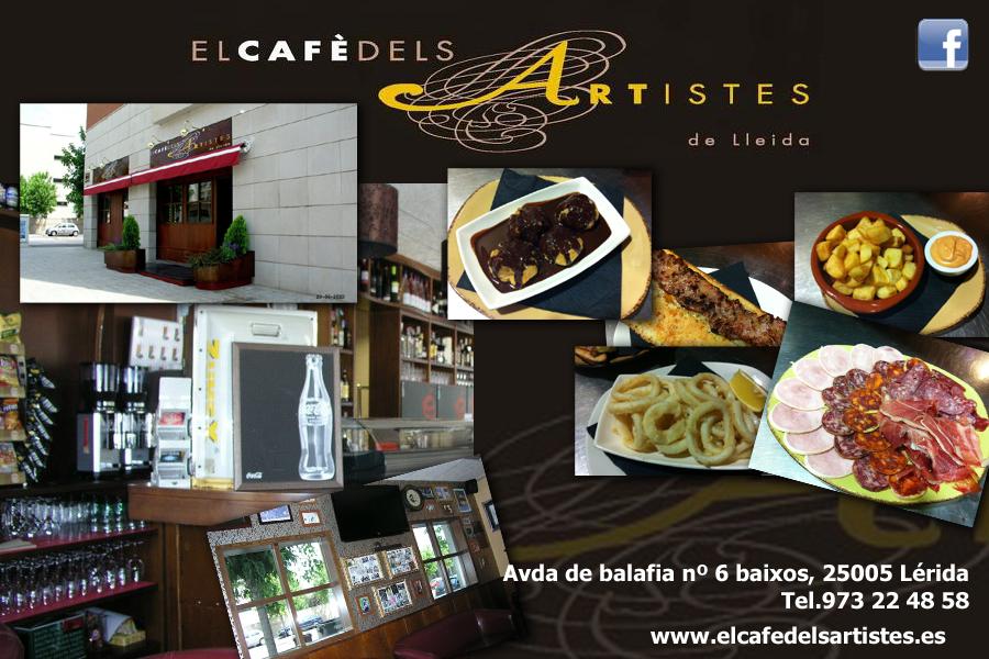 cafe artistes