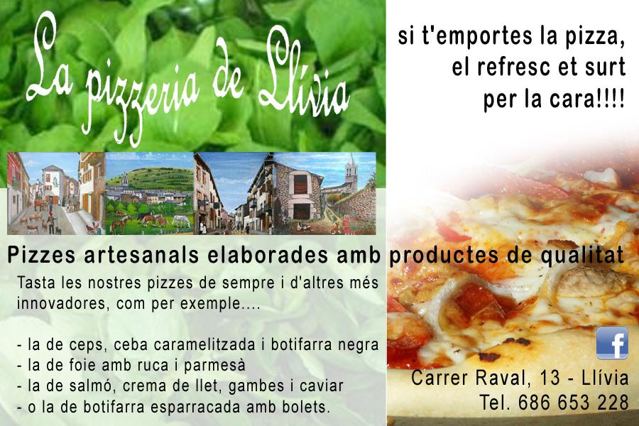 pizzeria llívia